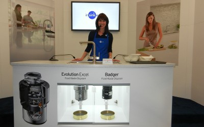 Julia Reilly Giving Product Demonstrations For Insinkerator